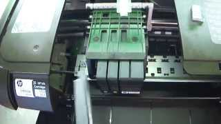 solution the hp 8100 ink cartridge depleted cartridge showed depleted and would not work part 1