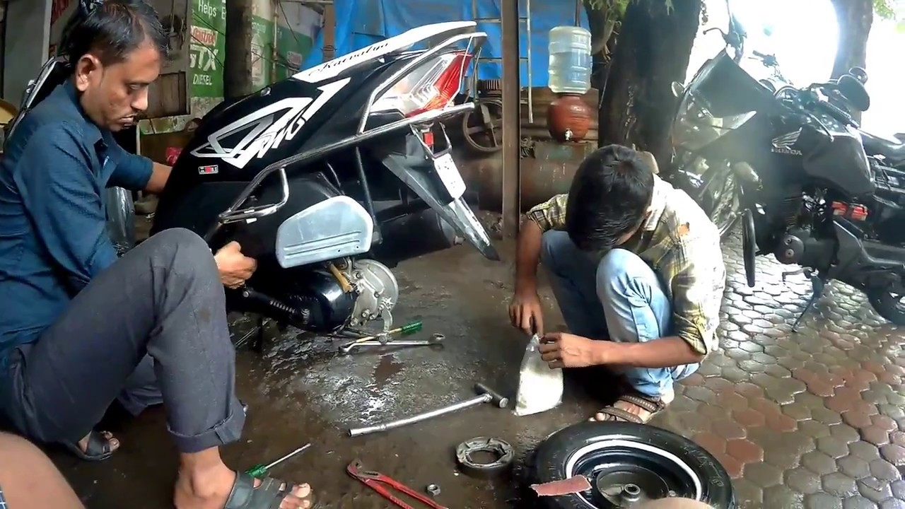 hight resolution of how to service scooter honda dio basic servicing 2018 by hetero genius