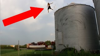 INSANE ROOF JUMPING 2!