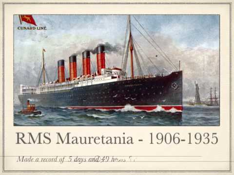 Tribute to Cunard Line - History of the Ships