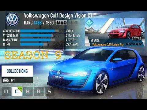 Asphalt 8 Golf Design Vision GTi Season 9
