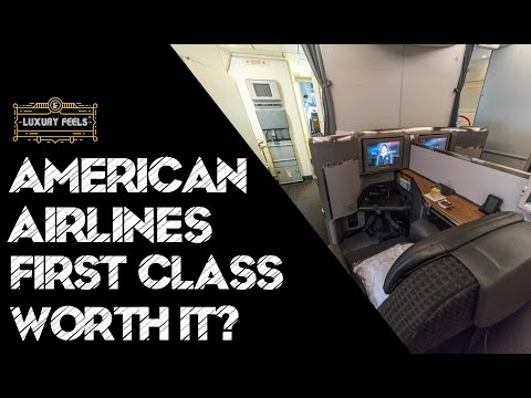 Is American Airlines FIRST Class (Domestic) WORTH It? 7 Inside Amex Centurion Lounge O'Hare