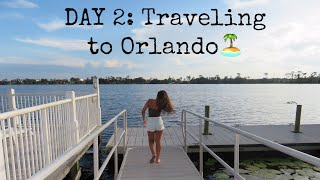 VLOG// Traveling to Orlando, tour of my villa, & more..