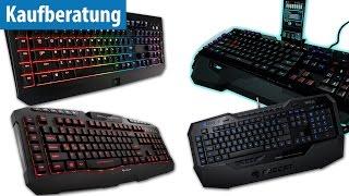 Die 5 beliebtesten Gaming-Tastaturen im Test | deutsch / german