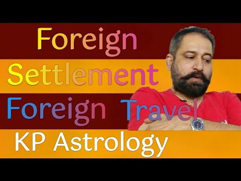 Foreign settlement in astrology, foreign travel & foreign settlement in  astrology