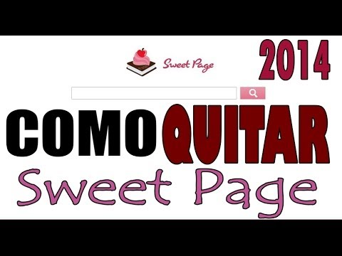 Quitar Sweet Page de Inter Explorer y Google Chrome 2014