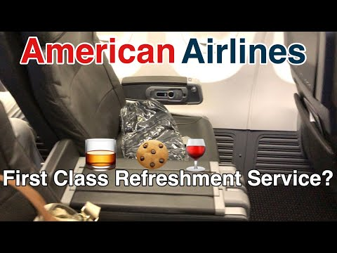 Flight Review | American Airlines | First Class Refreshment Service | Boeing 737-800 | LAX-ORD
