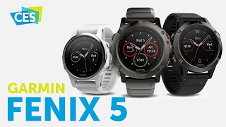 garmin Fenix 5 - часы для спортсменов