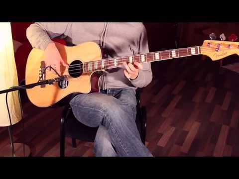 Chords and melodic lines on Acoustic Bass