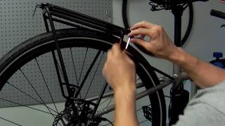 How to Install Blackburn Local Deluxe Pannier Rack - Unpack & Install