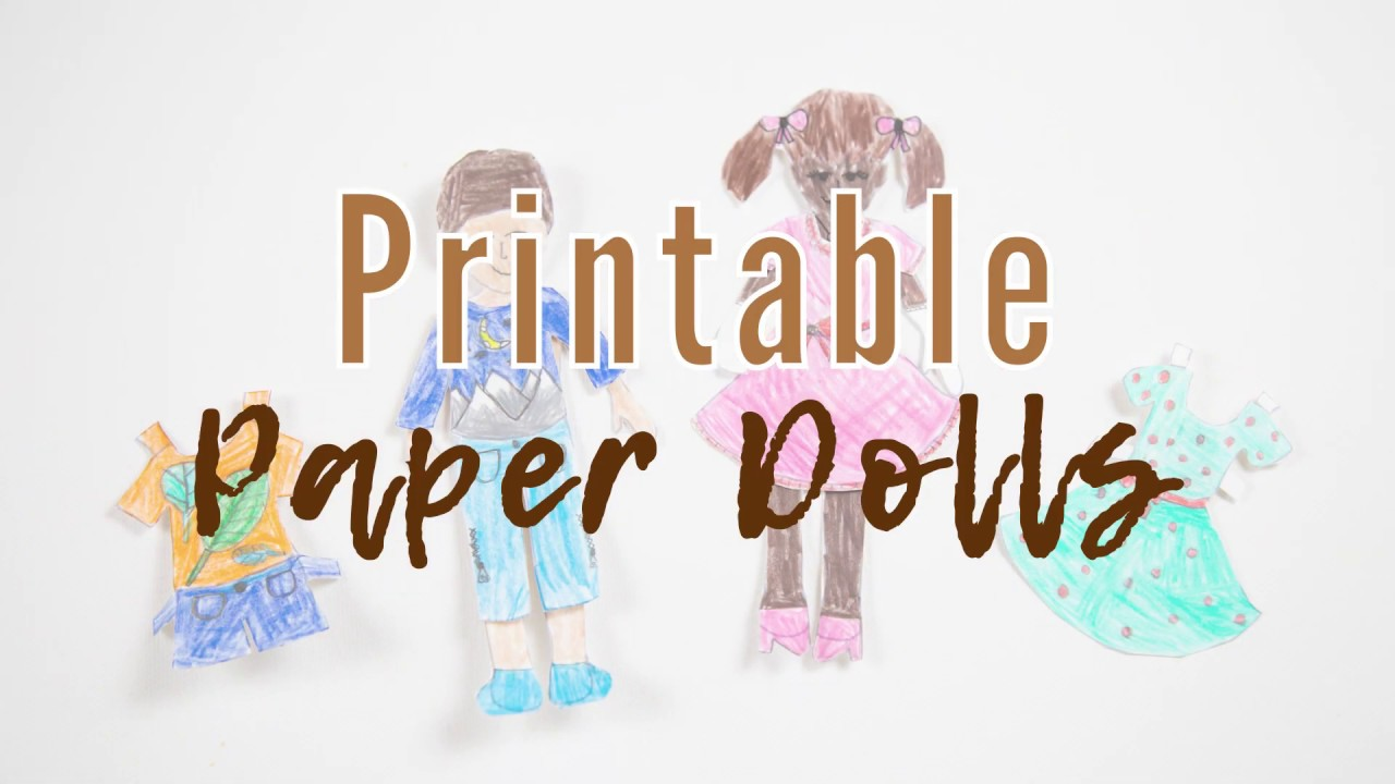 photograph about Printable Paper Dolls identified as Cost-free Printable Paper Dolls for Little ones in the direction of Colour and Customise