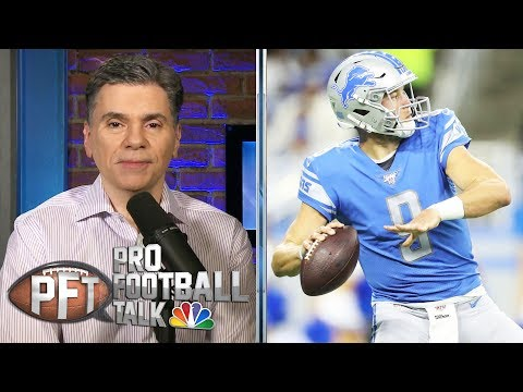 PFT Overtime: Matthew Stafford trade rumors, CBA talks | Pro Football Talk | NBC Sports