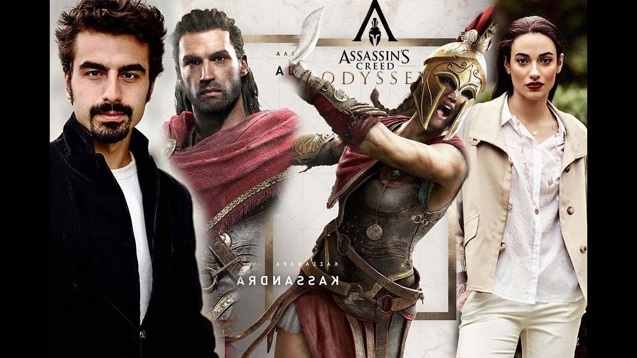 Assassin S Creed Odyssey Voice Actor Character Comparison Youtube