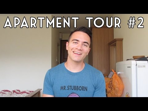 Chiang Mai Apartment Tour #2 - Phinyoping Mansion // Thailand