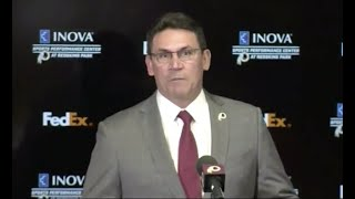 Watch live: Washington Redskins introduce Ron Rivera as head coach