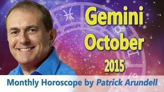 Gemini Horoscope October 2015