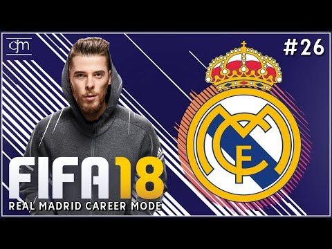 FIFA 18 Real Madrid Career Mode: Selamat Datang David De Gea #26 (Bahasa Indonesia)