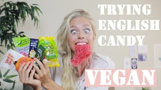 Trying British Candy / VEGAN