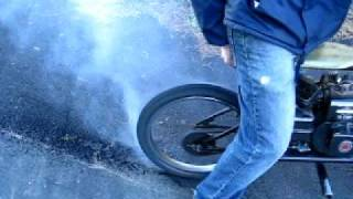 Minibike Built With Bmx Frame - Burnout!