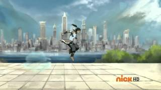 The Legend of Korra (Book 2 RELEASED) - Airbending Race with Avatar State
