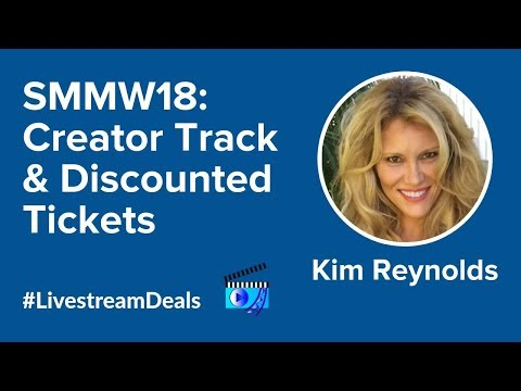 Social Media Examiner's Kim Reynolds on Social Media Marketing World 2018 on #LivestreamDeals