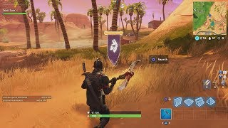 Fortnite Battle Royale Season 6 Week 10 Secret Banner Location (G8 G9 H8 H9 Secret Banner)