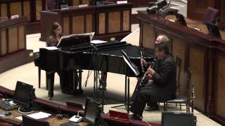 Recital de clarinete y piano - 4 May 2015 - Bloque 1