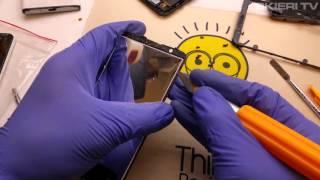 SONY E4 - digitizer LCD repair disassembly - naprawa wymiana dotyku