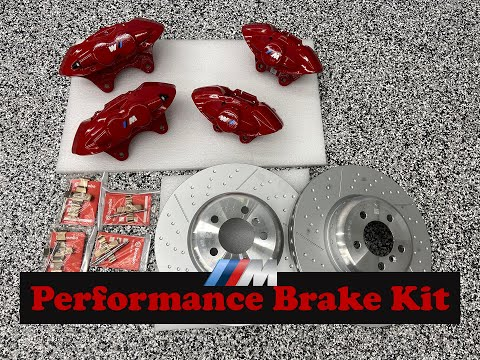 Brembo M Performance Brake Kit Upgrade BMW F30 Part 1 Unboxing And Ceramic Coating