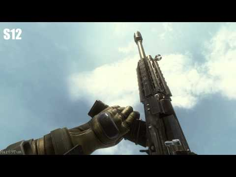 Call Of Duty Black Ops 2 All Weapons In Slow Motion [FULL HD, DX11, MAX DETAILS]