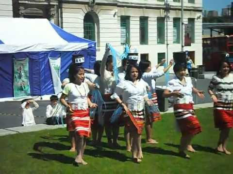 Igorot Dancers in General Gordon Square, Woolwich