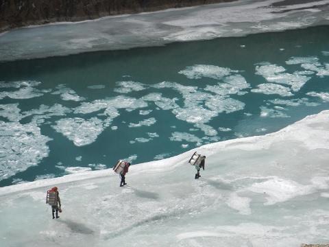 Zanskar  Chadar  Frozen River  2016 Valdimiro Brezzi