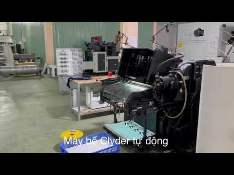 Quy trình sản xuất bao bì giấy - ĐẦY ĐỦ NHẤT