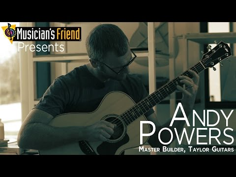 Andy Powers from Taylor Guitars Talks Building Guitars - Musician's Friend Interview