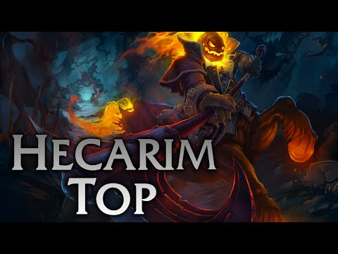 League of Legends   Headless Hecarim Top - Full Game Commentary