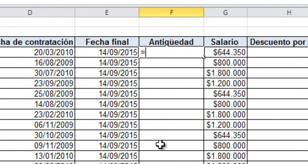 N mina con horas extras en excel excel b sico 5 youtube for Nomina en excel xls