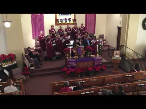 Worship 2016 12 18 Advent Candle Lighting