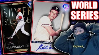 One Game Away From World Series & Unlocking New 99 Legend!! Mlb The Show 20