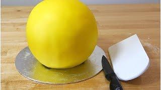 Как сделать мастику для обтяжки торта(Очень простой рецепт из маршмелоу которая не станет твердой на торте!, 2015-07-23T12:38:33.000Z)