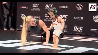UFC 225:  Holly Holm Open Workouts