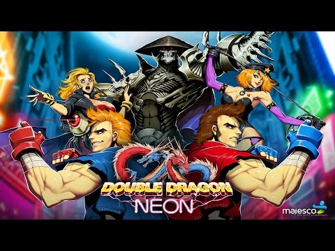Double Dragon Neon Co Op Gameplay Longplay Full HD