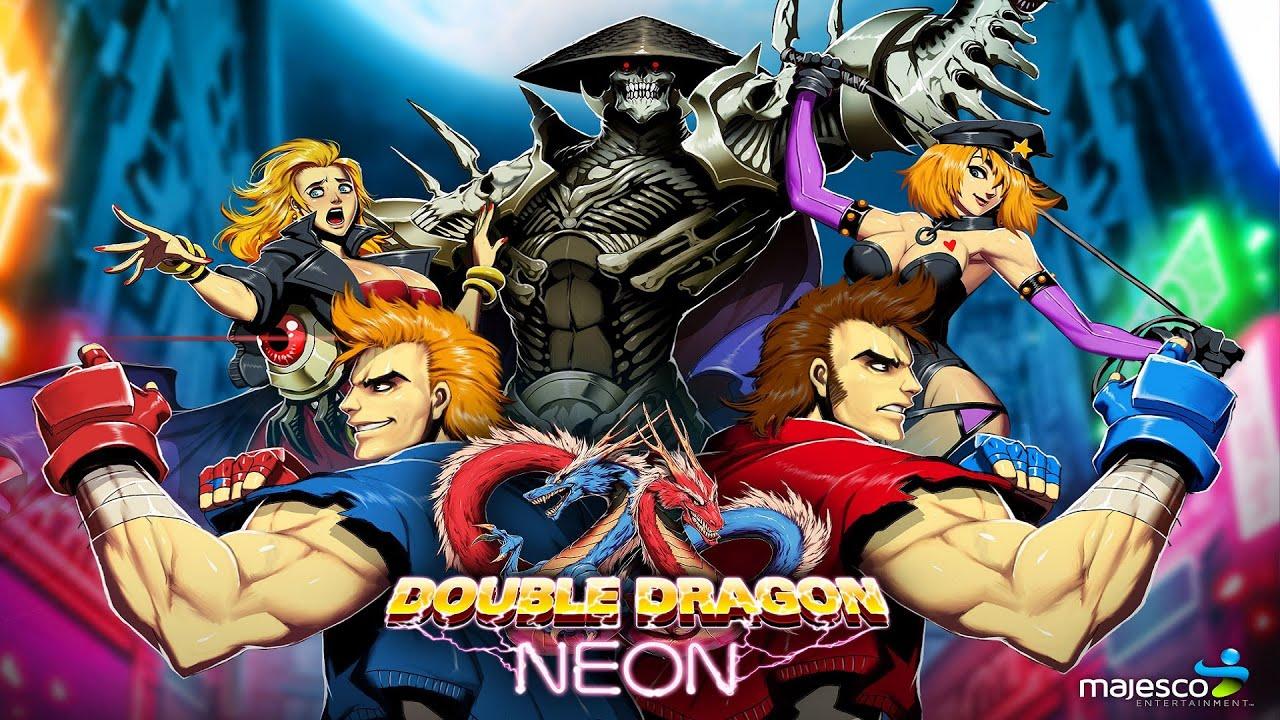 Double Dragon Neon Co Op Gameplay Longplay Full Hd Youtube