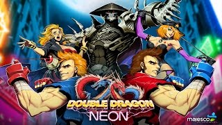 Double Dragon Neon Co Op Gameplay Longplay Full HD
