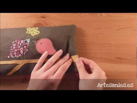 Cojin de semillas con patchwork   YouTube