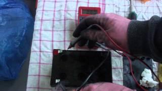 Sealed Lead Acid Battery Repair - how to repair a sealed lead acid battery