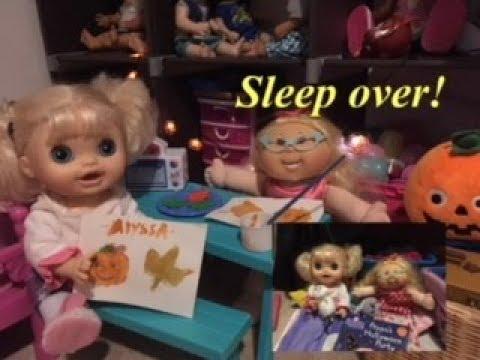 BABY A: Emily has a sleepover at  Alyssa's house