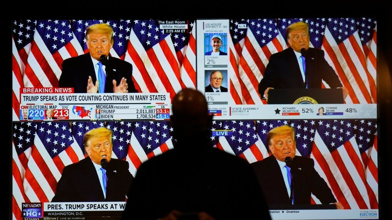 Donald Trump 'is in the driver's seat' according to electoral maths