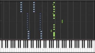 """[Naruto Shippuden Opening 17] """"Wind"""" - Yamazaru (Piano) [w/ FULL FREE MIDI File DL]"""