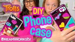 DIY Easy Custom Patches Phone Case | TROLLS