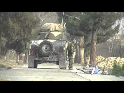 Security Forces React to Mazar-i-Sharif Consulate Attack